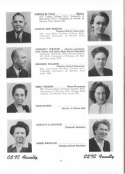 Page 17, 1945 Edition, University of Wisconsin Stevens Point - Horizon / Iris Yearbook (Stevens Point, WI) online yearbook collection