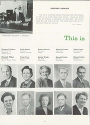 Page 10, 1948 Edition, University of Wisconsin Stevens Point - Horizon / Iris Yearbook (Stevens Point, WI) online yearbook collection