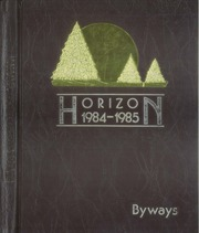 1985 Edition, University of Wisconsin Stevens Point - Horizon / Iris Yearbook (Stevens Point, WI)