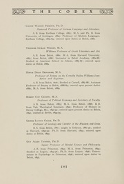 Page 14, 1907 Edition, Beloit College - Codex Yearbook (Beloit, WI) online yearbook collection