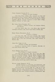 Page 15, 1907 Edition, Beloit College - Codex Yearbook (Beloit, WI) online yearbook collection