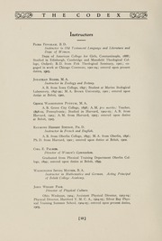Page 16, 1907 Edition, Beloit College - Codex Yearbook (Beloit, WI) online yearbook collection