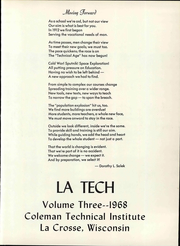 Page 7, 1968 Edition, Western Technical College - Latech Yearbook (La Crosse, WI) online yearbook collection