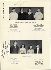 Page 14, 1948 Edition, Lincoln High School - Ahdawagam Yearbook (Wisconsin Rapids, WI) online yearbook collection