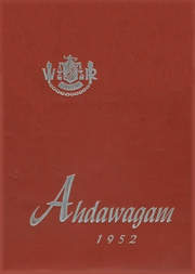 1952 Edition, Lincoln High School - Ahdawagam Yearbook (Wisconsin Rapids, WI)