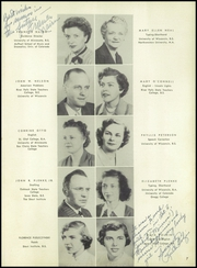 Page 11, 1952 Edition, Lincoln High School - Ahdawagam Yearbook (Wisconsin Rapids, WI) online yearbook collection