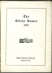 Page 5, 1922 Edition, University of Wisconsin Superior - Gitche Gumee Yearbook (Superior, WI) online yearbook collection