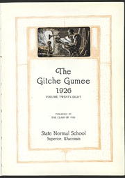 Page 7, 1926 Edition, University of Wisconsin Superior - Gitche Gumee Yearbook (Superior, WI) online yearbook collection