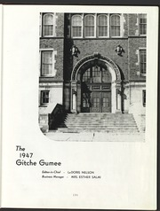 Page 7, 1947 Edition, University of Wisconsin Superior - Gitche Gumee Yearbook (Superior, WI) online yearbook collection