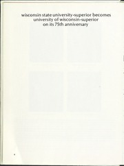 Page 10, 1972 Edition, University of Wisconsin Superior - Gitche Gumee Yearbook (Superior, WI) online yearbook collection