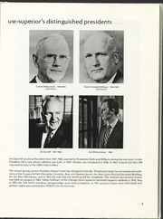 Page 9, 1972 Edition, University of Wisconsin Superior - Gitche Gumee Yearbook (Superior, WI) online yearbook collection