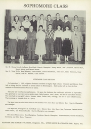 Page 17, 1955 Edition, Bagley High School - Indian Yearbook (Bagley, WI) online yearbook collection