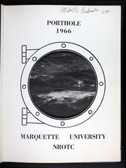 Page 3, 1966 Edition, Marquette University NROTC - Porthole Yearbook (Milwaukee, WI) online yearbook collection