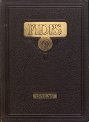 Page 1, 1925 Edition, Milton College - Fides Yearbook (Milton, WI) online yearbook collection