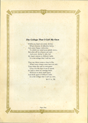 Page 11, 1925 Edition, Milton College - Fides Yearbook (Milton, WI) online yearbook collection