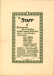 Page 5, 1925 Edition, Milton College - Fides Yearbook (Milton, WI) online yearbook collection