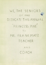 Page 3, 1942 Edition, Winter High School - Princess Pine Yearbook (Winter, WI) online yearbook collection