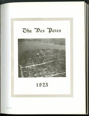 Page 5, 1923 Edition, St Norbert College - Des Peres Yearbook (De Pere, WI) online yearbook collection