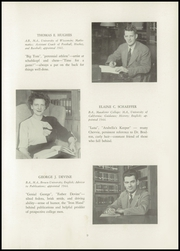Page 13, 1948 Edition, Milwaukee Country Day School - Arrow Yearbook (Milwaukee, WI) online yearbook collection