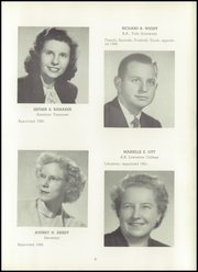 Page 15, 1952 Edition, Milwaukee Country Day School - Arrow Yearbook (Milwaukee, WI) online yearbook collection