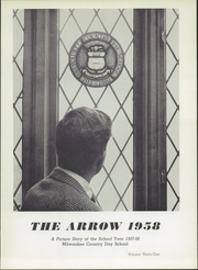 Page 7, 1958 Edition, Milwaukee Country Day School - Arrow Yearbook (Milwaukee, WI) online yearbook collection