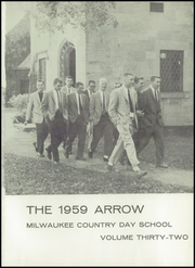 Page 5, 1959 Edition, Milwaukee Country Day School - Arrow Yearbook (Milwaukee, WI) online yearbook collection