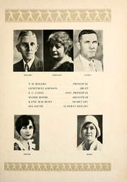 Page 9, 1930 Edition, San Jacinto High School - El Oroso Yearbook (Houston, TX) online yearbook collection