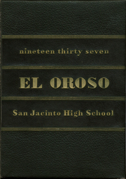 San Jacinto High School - El Oroso Yearbook (Houston, TX) online yearbook collection, 1937 Edition, Page 1