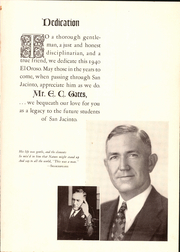 Page 11, 1940 Edition, San Jacinto High School - El Oroso Yearbook (Houston, TX) online yearbook collection
