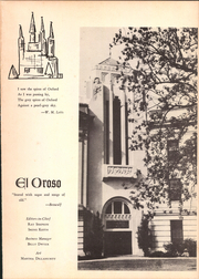 Page 7, 1940 Edition, San Jacinto High School - El Oroso Yearbook (Houston, TX) online yearbook collection