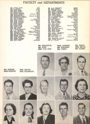 Page 15, 1951 Edition, San Jacinto High School - El Oroso Yearbook (Houston, TX) online yearbook collection