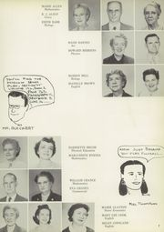 Page 11, 1955 Edition, San Jacinto High School - El Oroso Yearbook (Houston, TX) online yearbook collection
