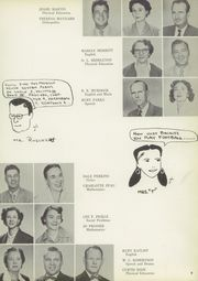 Page 13, 1955 Edition, San Jacinto High School - El Oroso Yearbook (Houston, TX) online yearbook collection