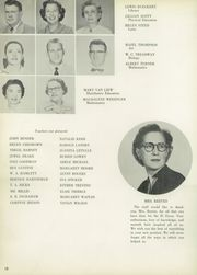 Page 14, 1955 Edition, San Jacinto High School - El Oroso Yearbook (Houston, TX) online yearbook collection