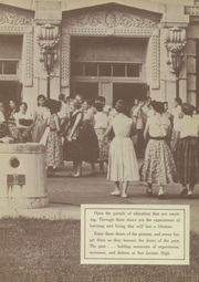 Page 3, 1955 Edition, San Jacinto High School - El Oroso Yearbook (Houston, TX) online yearbook collection