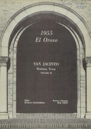 Page 5, 1955 Edition, San Jacinto High School - El Oroso Yearbook (Houston, TX) online yearbook collection