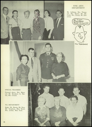 Page 16, 1956 Edition, San Jacinto High School - El Oroso Yearbook (Houston, TX) online yearbook collection