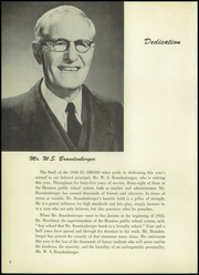 Page 6, 1956 Edition, San Jacinto High School - El Oroso Yearbook (Houston, TX) online yearbook collection