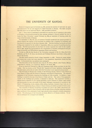 Page 15, 1893 Edition, University of Kansas - Jayhawker Yearbook (Lawrence, KS) online yearbook collection