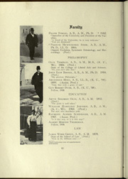Page 16, 1909 Edition, University of Kansas - Jayhawker Yearbook (Lawrence, KS) online yearbook collection