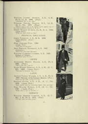 Page 17, 1909 Edition, University of Kansas - Jayhawker Yearbook (Lawrence, KS) online yearbook collection