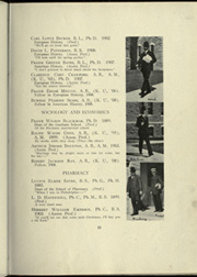 Page 19, 1909 Edition, University of Kansas - Jayhawker Yearbook (Lawrence, KS) online yearbook collection