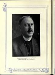 Page 8, 1915 Edition, University of Kansas - Jayhawker Yearbook (Lawrence, KS) online yearbook collection
