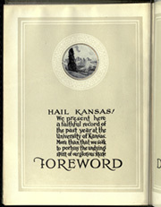 Page 10, 1927 Edition, University of Kansas - Jayhawker Yearbook (Lawrence, KS) online yearbook collection