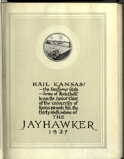 Page 7, 1927 Edition, University of Kansas - Jayhawker Yearbook (Lawrence, KS) online yearbook collection
