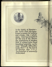 Page 8, 1927 Edition, University of Kansas - Jayhawker Yearbook (Lawrence, KS) online yearbook collection