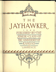 Page 7, 1928 Edition, University of Kansas - Jayhawker Yearbook (Lawrence, KS) online yearbook collection