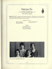 Page 335, 1930 Edition, University of Kansas - Jayhawker Yearbook (Lawrence, KS) online yearbook collection