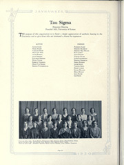 Page 338, 1930 Edition, University of Kansas - Jayhawker Yearbook (Lawrence, KS) online yearbook collection