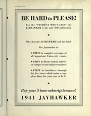 Page 5, 1941 Edition, University of Kansas - Jayhawker Yearbook (Lawrence, KS) online yearbook collection